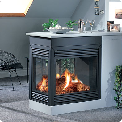 gas fireplaces fox valley stone brick. Black Bedroom Furniture Sets. Home Design Ideas