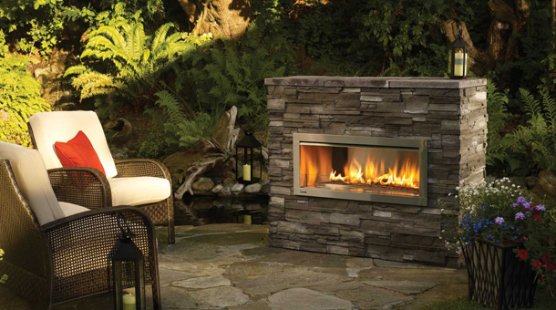 Fireplaces & Stoves / Gas Fireplaces (Outdoor) - Gas Fireplaces (Outdoor) Fox Valley Stone & Brick