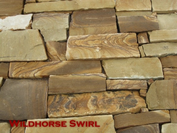 Wildhorse Natural Edge Veneer Stone