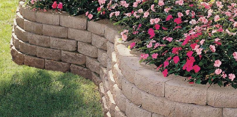 Landscaping Stones Windsor : Retaining walls fox valley stone brick