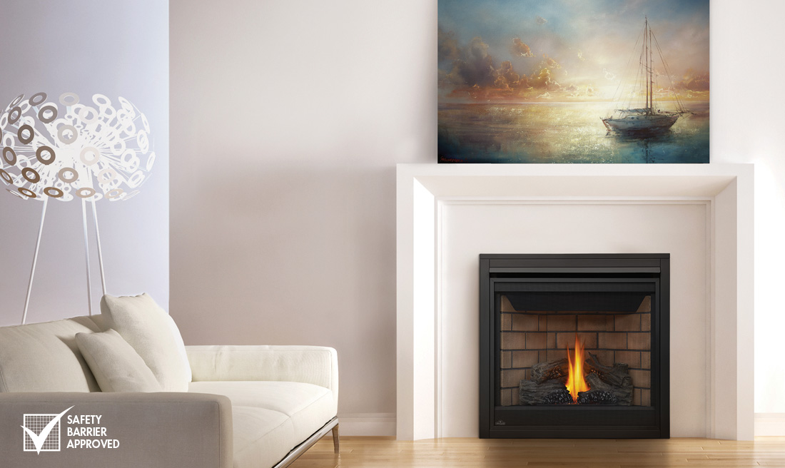 Gas Fireplaces – Fox Valley Stone & Brick