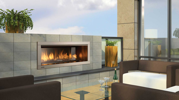 Gas Fireplaces Outdoor Fox Valley Stone Amp Brick