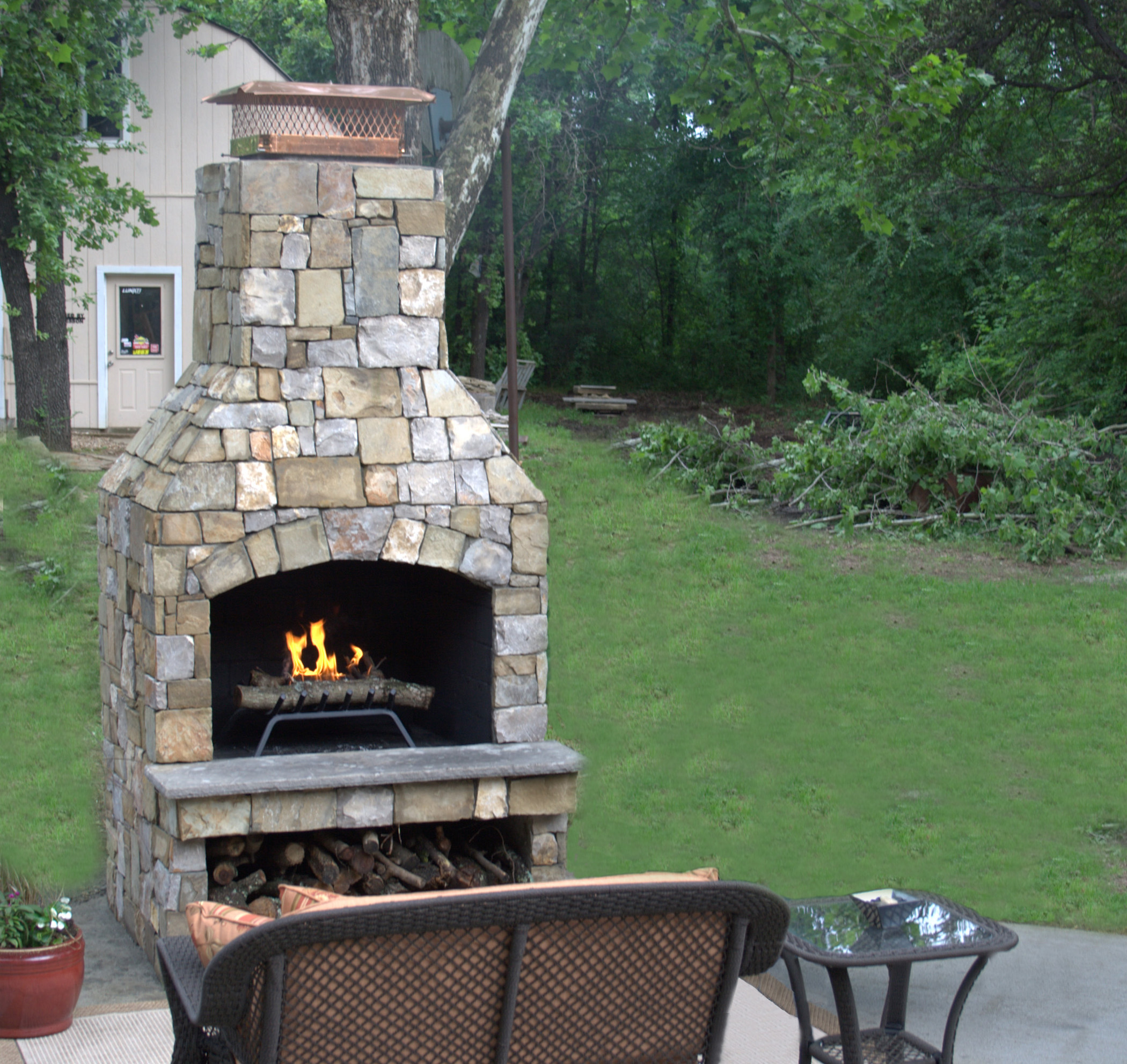 pizza stone oven and footing fireplace with outdoor fireplaces side brick goodin mark
